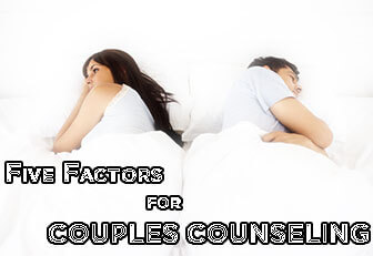 Relationship Counseling 5 Factors